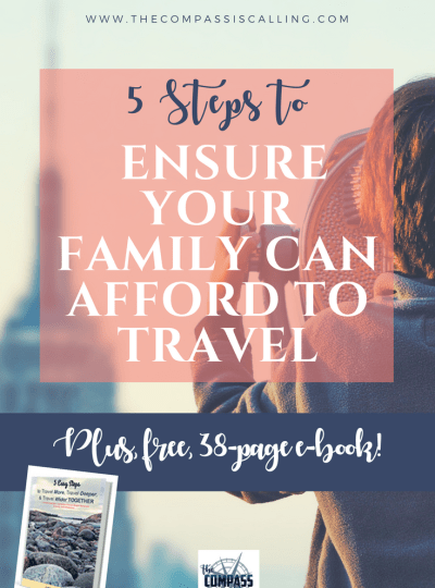 Determining Whether or Not Your Family Can Afford to Travel