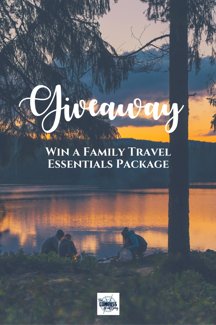 Family Travel Essentials Giveaway