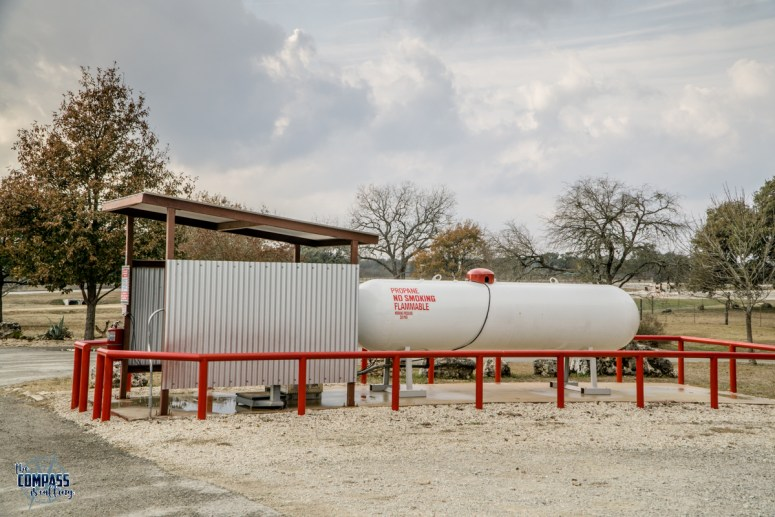 Propane service at Spring Branch RV Park is easily accessible and fast.
