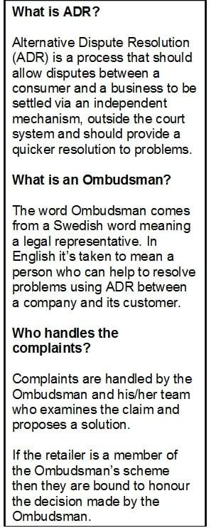 ADR, Ombudsman what it all is