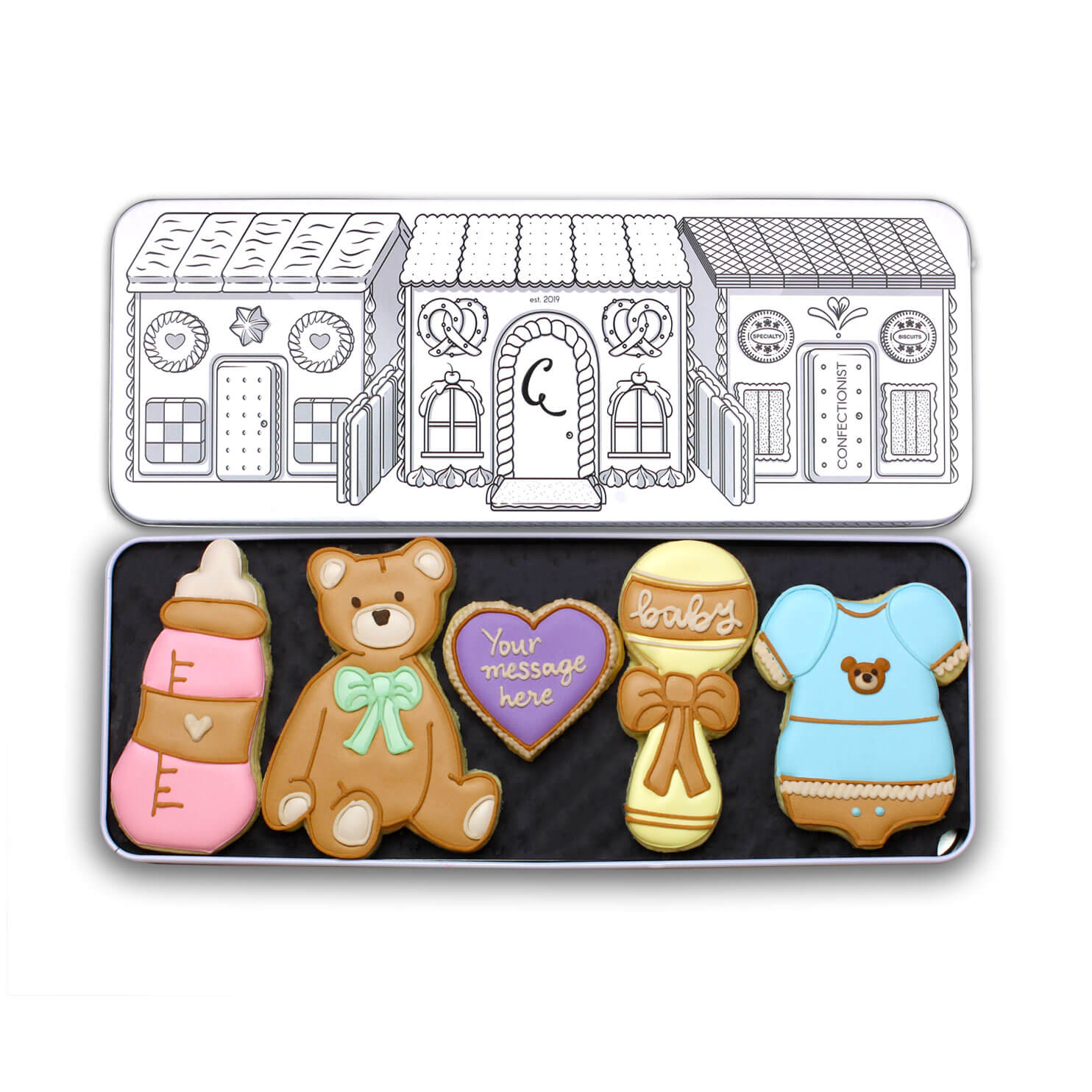 new baby biscuit set gift