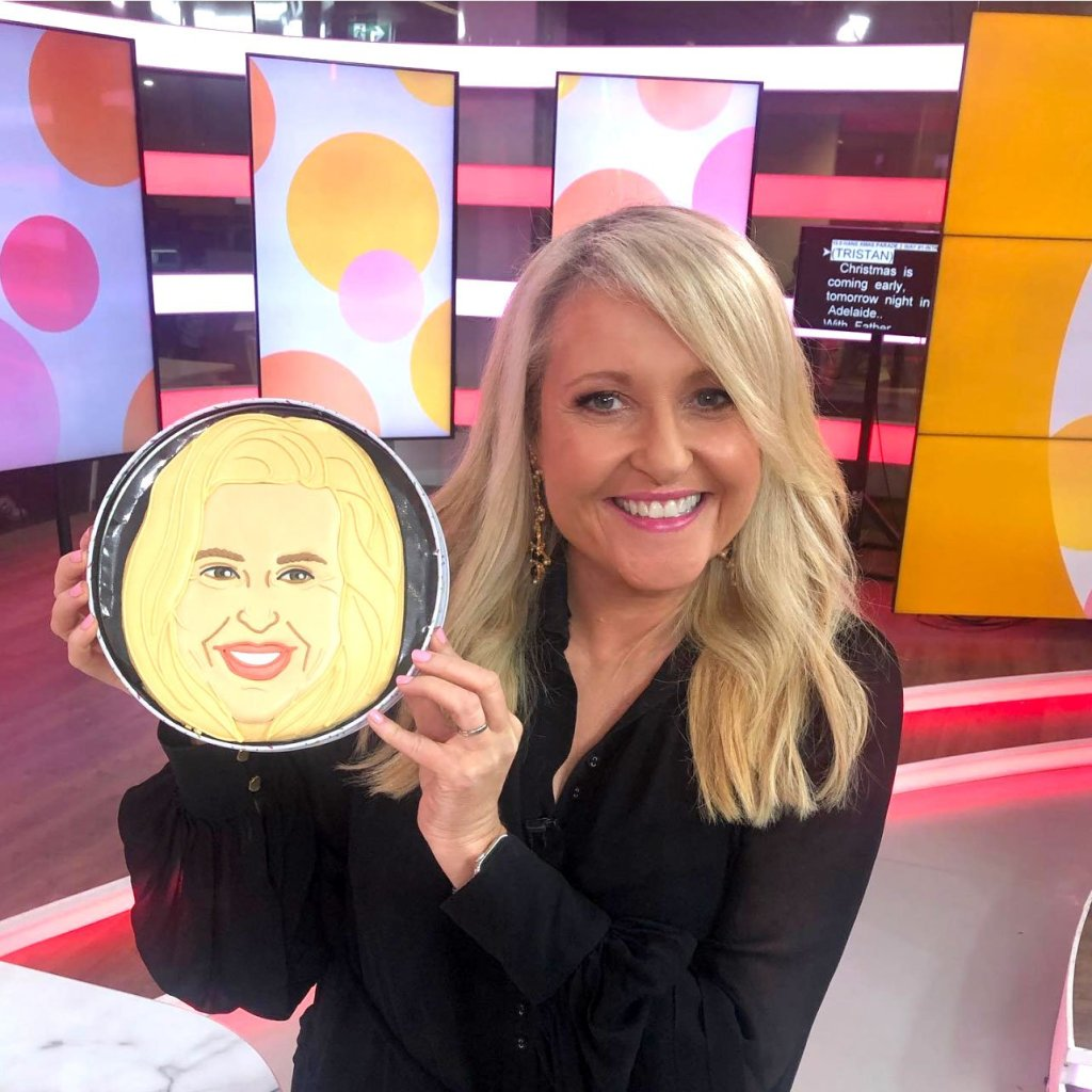 Channel 10 Face Cookie