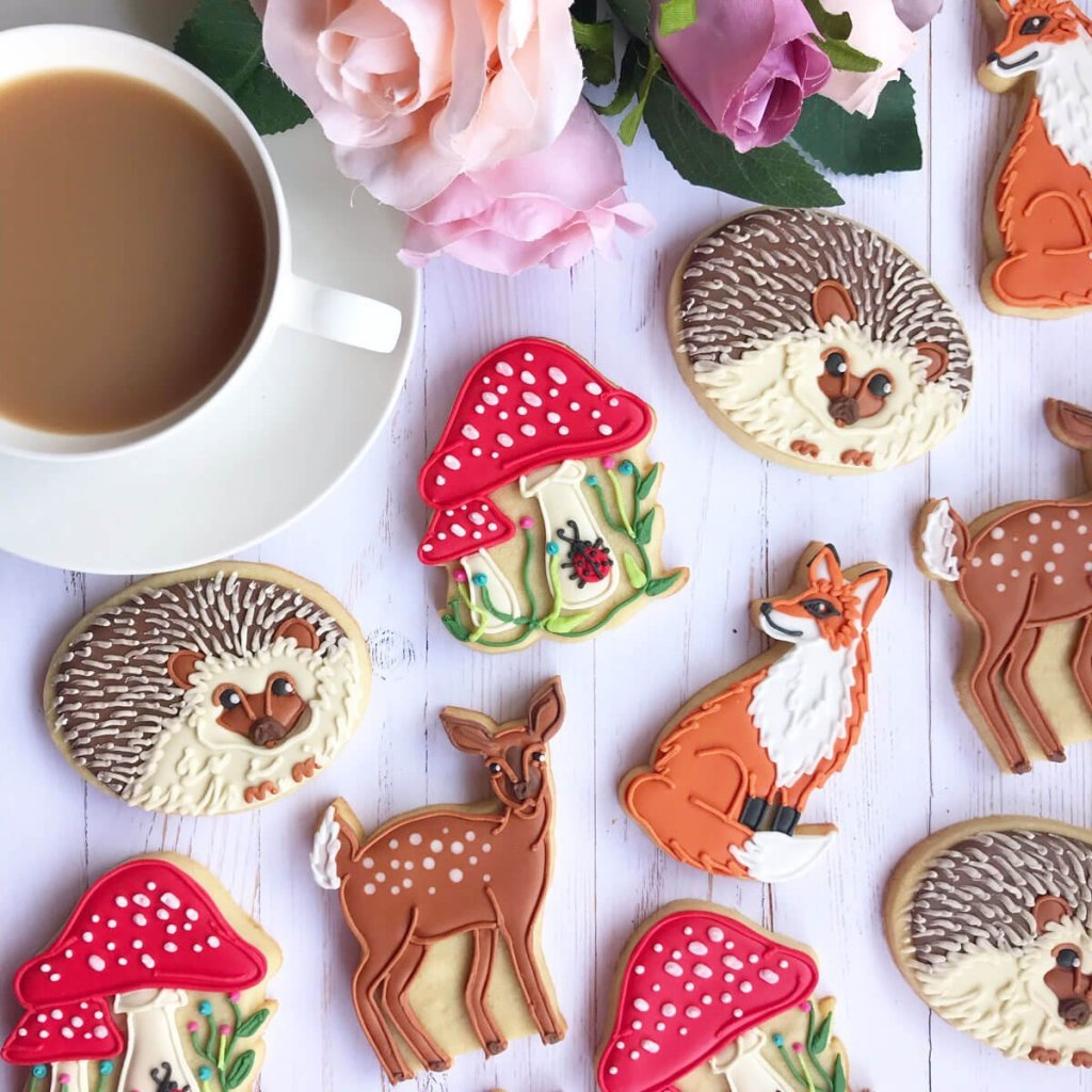 fantasy party themed biscuits