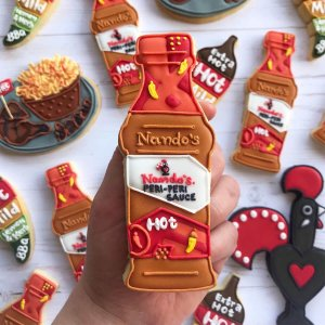 nandos launch custom biscuits