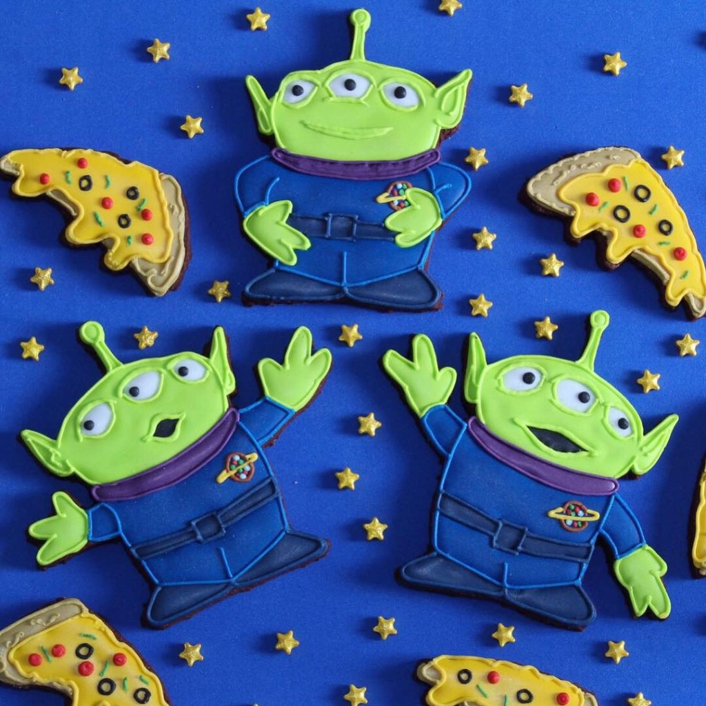 Custom Cookies for Toy Story Birthday Party