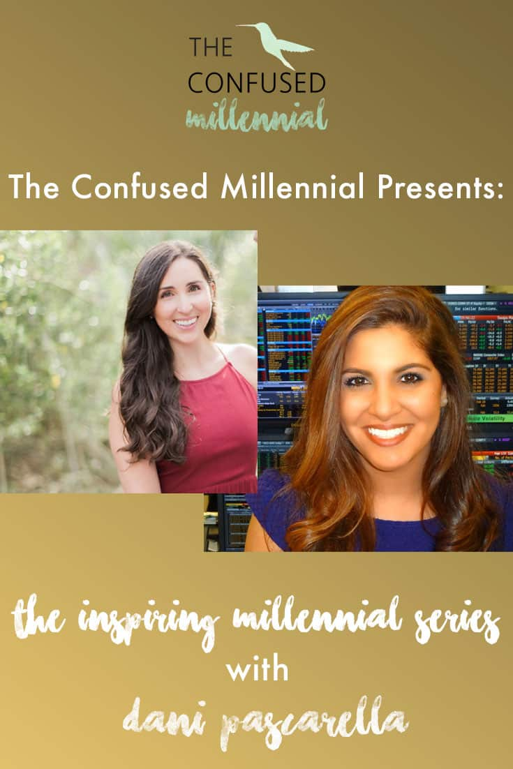 "Are you thinking about launch your business? Watch the ""Inspiring Millennials"" Interview with Invibed.com co-founder Dani Pascarella. Dani shares about her journey as an entrepreneur, her strategy for launching and growing a business, as well as how she helps millennials tackle their student debt and finances. - The Confused Millennial TCM Tv"