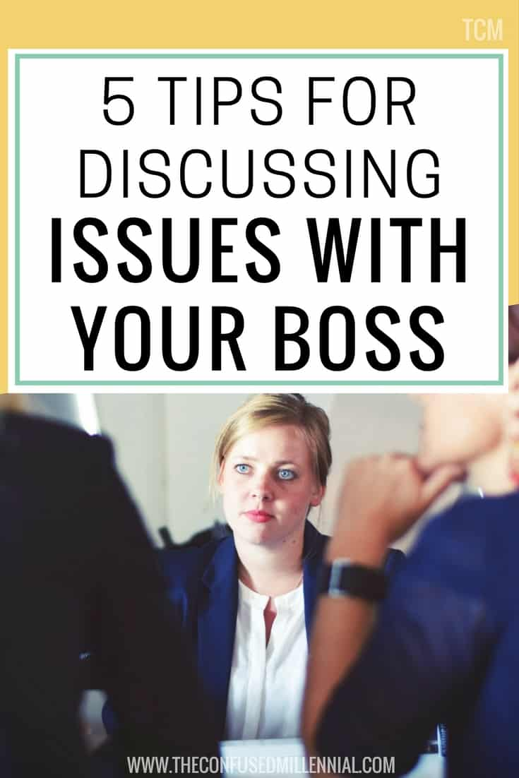 5 Tips for Discussing Important Issues with Your Boss, workplace conflict resolution