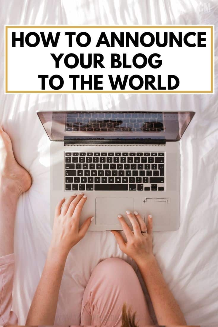 how to announce your blog to the world, blog launch announcement, blogging for beginners, how to tell friends and family that you are going to start a blog, tell people that you are making your instagram professional, tips for starting and launching a blog and getting readers or subscribers, what to do with your social media accounts when you launch a blog, #bloggingtips, #newblog, #launchablog, #startablog