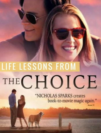 I am a sucker for anything Nicholas Sparks. 'The Choice' did not disappoint, and it took on a new meaning as newlyweds. The Choice is about feisty med student Gabby, who has a long-time boyfriend, Ryan. But when Ryan goes out of town she finds herself in a whirlwind romance with her new neighbor, Travis. A lot more happens beyond this, butI don't want to spoil it for anyone! Check out these life lessons you can look out for while watching the movie!