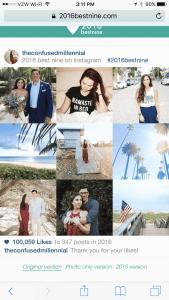 best nine instagram the confused millennial