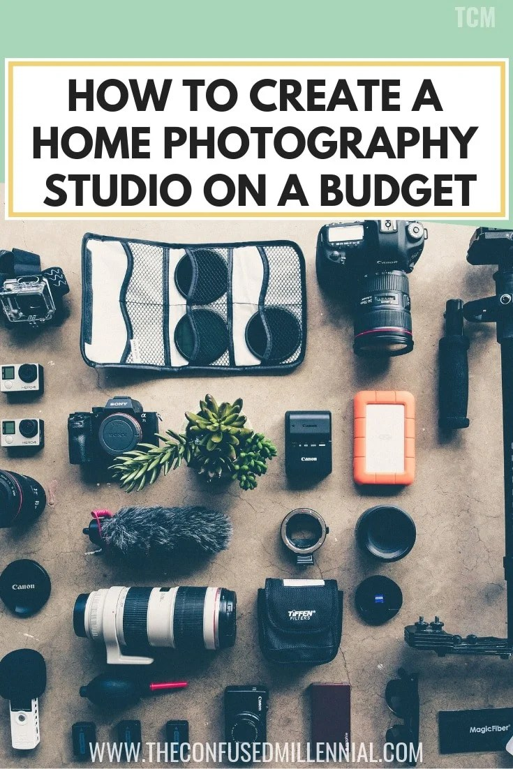 How To Create A Home Photography Studio On A Budget, creative photography tips ideas and props for business and lifestyle photoshoots, photography 101, #photography, simple DIY at home photography studio for baby and family photos