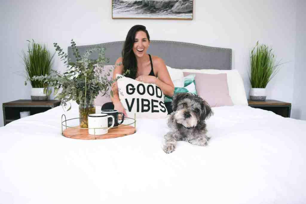 master bedroom ideas on a budget, cozy neutral modern bedroom design, #masterbedroom