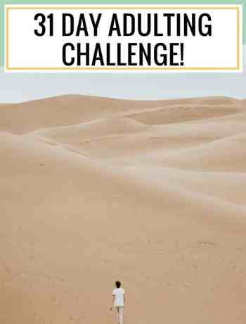 adulting is hard, adulting 31 day challenge, adulting101, adult responsibilities, millennial advice, #millennialadvice, #adultingtips, #adulting101, #adultingchallenge, #31daychallenge