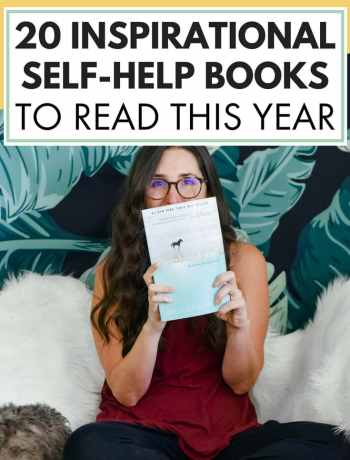 20 Inspirational Self-Help Books To Read This Year for young adults and women, #selfhelpbooks, #inspirationalbooks, #bookstoread, #booksforwomen, #bestsellingbooks, best selling books