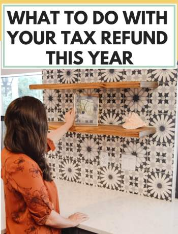 What To Do With Your Tax Refund This Year, tax return how to spend, personal finance tips, #personalfinance, #taxrefund, #taxreturn, simple thoughts on how to use your tax return for budget or investing and other things