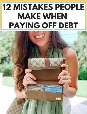 12 Mistakes People Make When Paying Off Debt, how to quickly pay off debt in 6 months when you're broke, tips for frugal living and saving money, financial freedom, personal finance, millennial money, #payingoffdebt, #payoffdebt, #frugalliving, #savingmoney, #moneystuff
