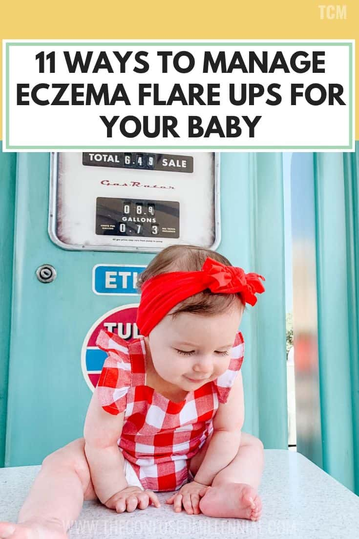 11 Ways To Manage Eczema Flare Ups For Your Baby, home remedies for infants with eczema, treatment for babies with eczema on scalp and cheeks, face, diy eczema relief lotion, breastmilk and bleach and olive boil bath ideas for a DIY relief to eczema symptoms, thoughts on breastfeeding and eczema triggers, #babyeczema, #babyhealth, #infanteczema, #eczematriggers