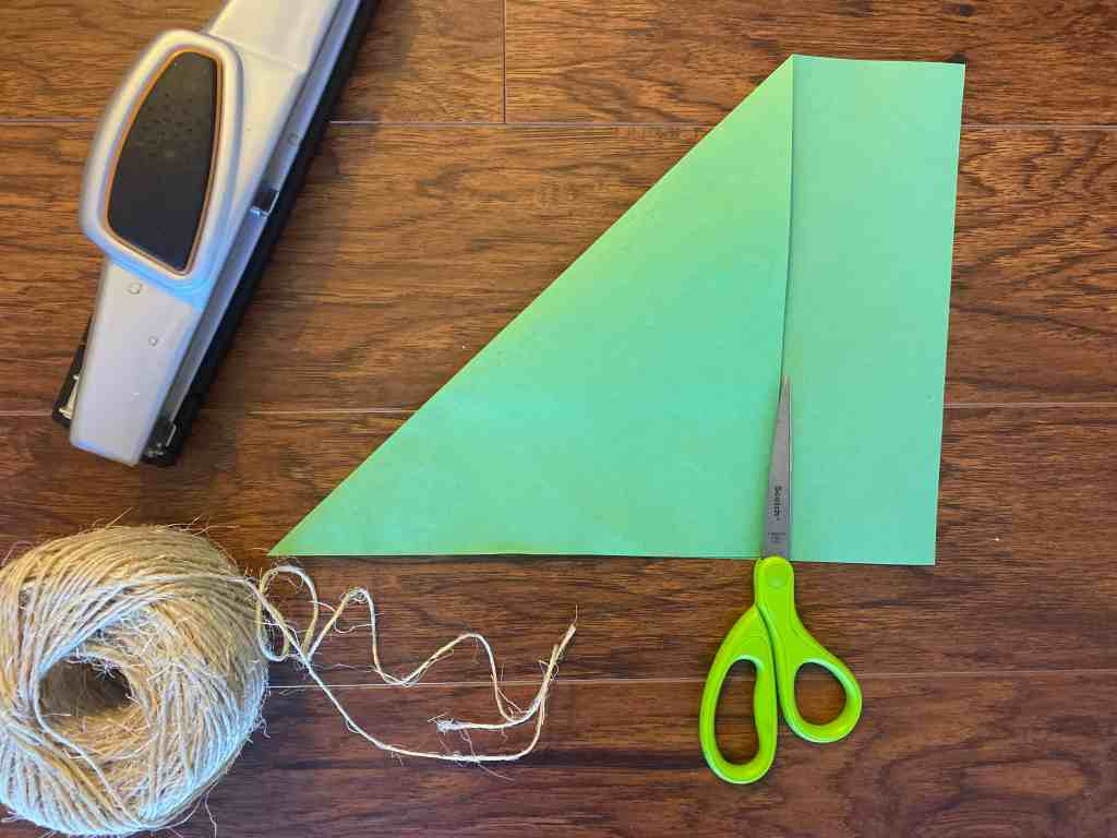 origami christmas tree garland step by step tutorial