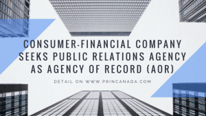 Financial-Commerce Company Seeks Public Relations Agency As Agency Of Record (AOR)