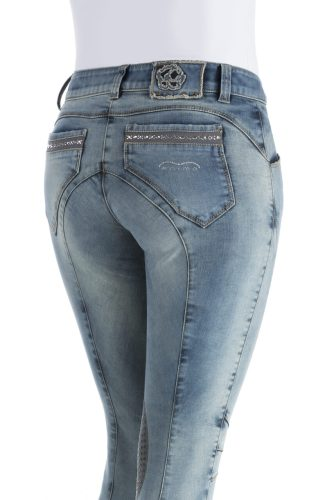 Animo Nax Jean Knee Patch Breech