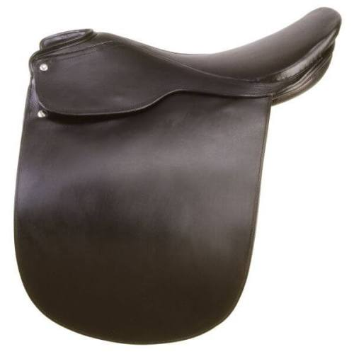 EquiRoyal Liberty Lane Fox Smooth Seat Show Saddle