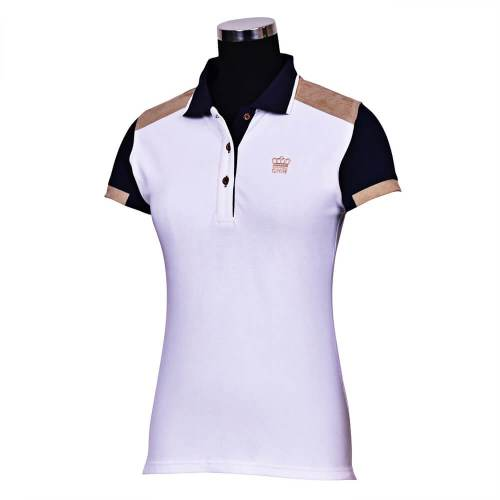 George Morris Reserve Short Sleeve Polo Shirt WHITE
