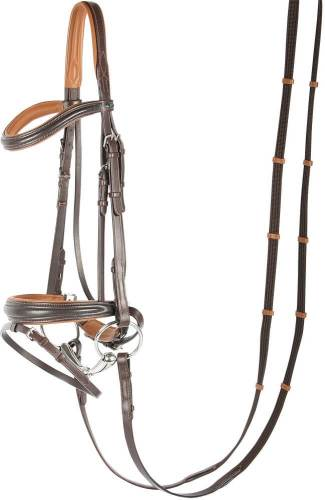 Harrys Horse Soft Contrast Bridle