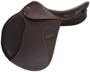 Henri De Rivel (HDR) Memor-X Close Contact Saddle With Memory Foam Seat
