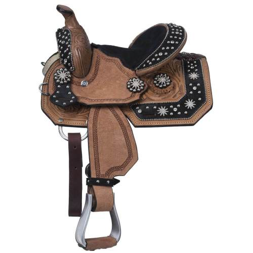High Noon Miniature Barrel Saddle