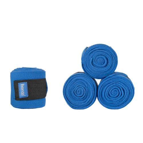 Horze Spirit Polo Wraps Fleece Royal Blue