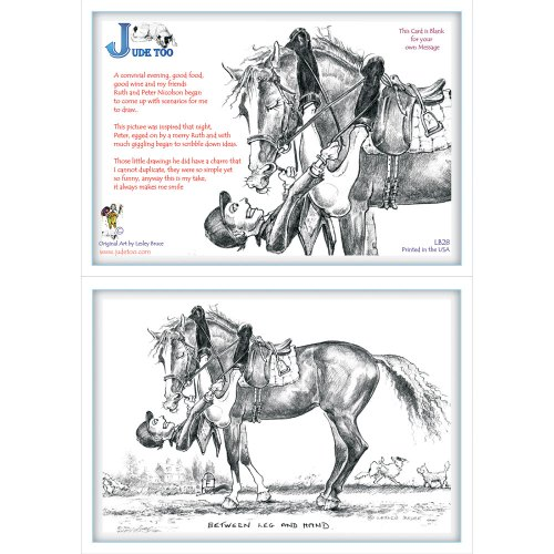 Jude Too Greeting Cards - Between Leg and Hand - 6 pack
