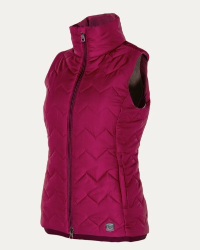 Noble Outfitters Calgary Vest Cranberry