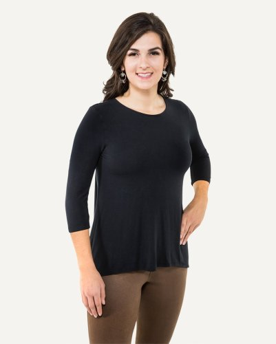 Noble Outfitters Cascade Top Black