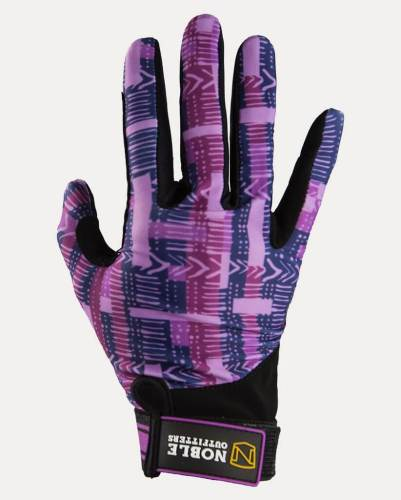 Noble Outfitters Perfect Fit Glove Grape Geo