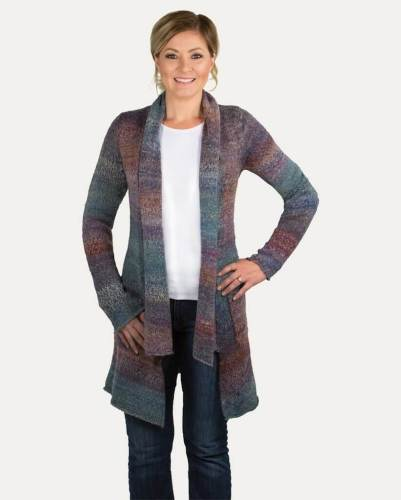 Noble Outfitters Ombre Scarf Sweater