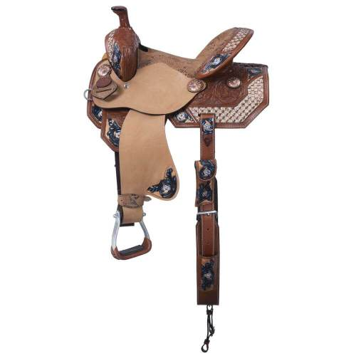 Savannah Southern Charm Collection Barrel Saddle