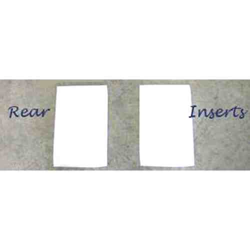 "ThinLinePro Tech Felt Western Pad Square or Barrel Inserts | Re 3/16"" S Rear"