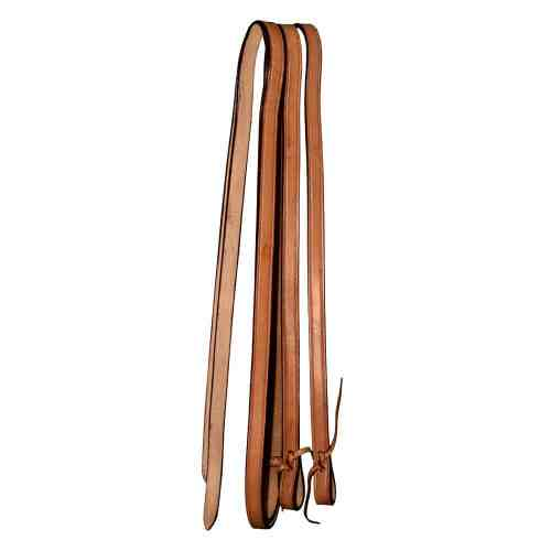 Western Plain Leather Reins 5/8