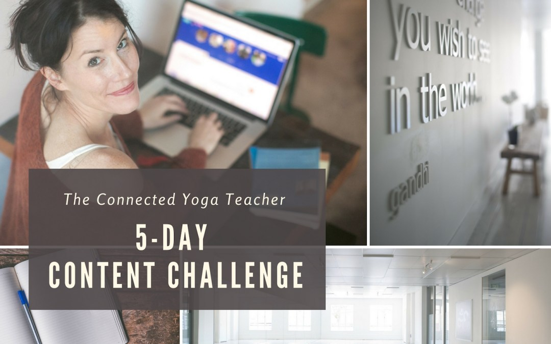 Content Creation 5-Day Challenge