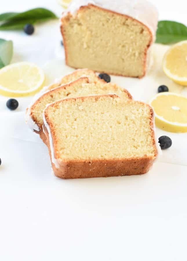 Plant based pound cake
