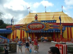 New Dumbo Ride Queue