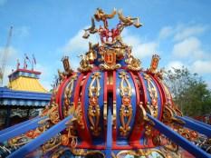 Dumbo Ride Detail