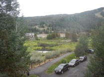 View from Room at Keystone Inn