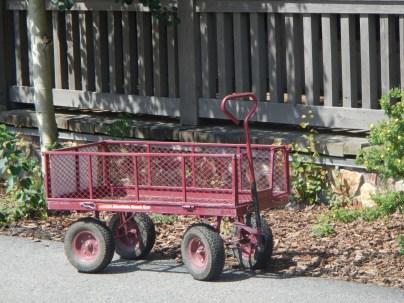 Pretty Red Wagon