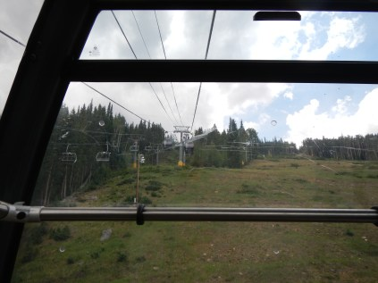 Riding the Gondola