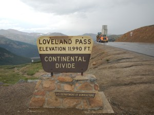 Keystone Colorado Continental Divide