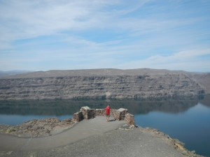 The Wanapum Damn is huge!