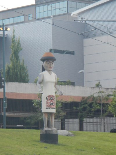 Welcome to Tacoma Statue