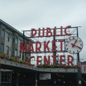 Pike Place seen while visiting Seattle Washington