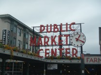 Famous Pikes Place Market Sign